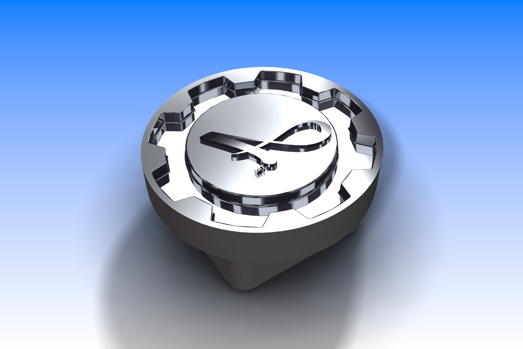 Injection Mould Tools - K A Tooling - Steering Wheel Centre Logo