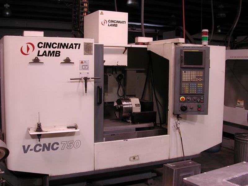 Our tool room includes a Cincinnati Lamb V-CNC750 machining centre