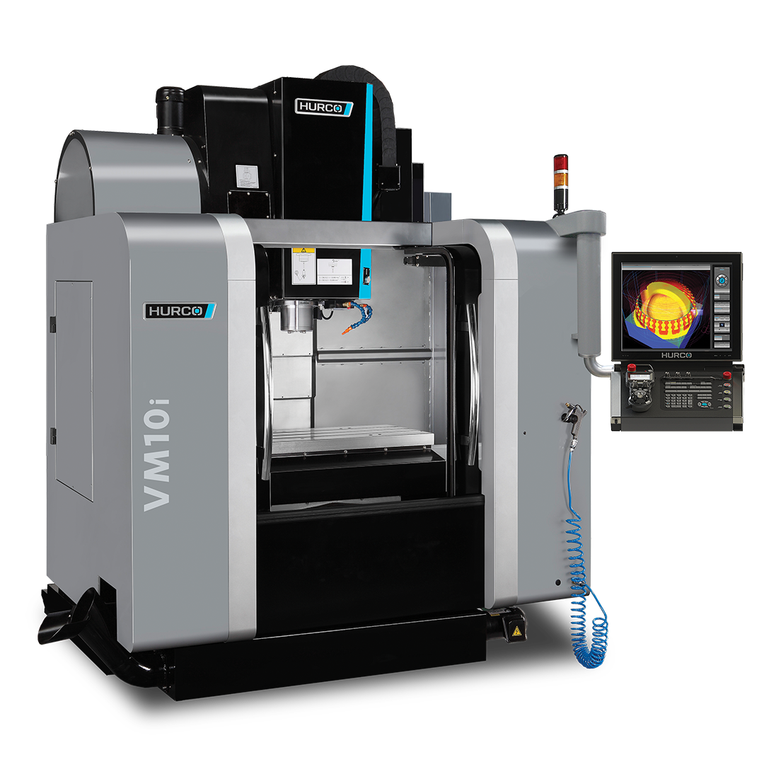 Our tool room includes 2 Hurco VM10i machining centres