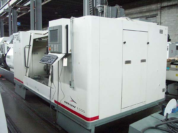Our tool room includes a Cincinnati Arrow CNC 1500 machining centre