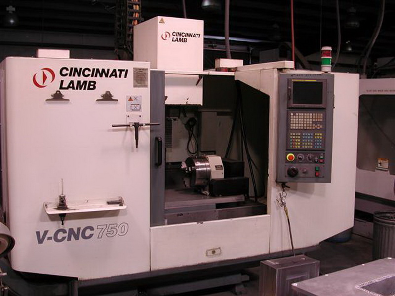 Our tool room includes a Cincinnati Lamb V-CNC750 machining centre
